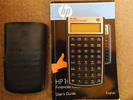 HP 10bII financial calculator (with pouch and manual)