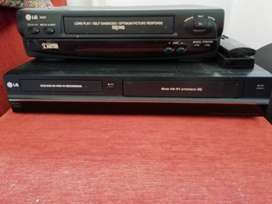 LG DVD and video player and recorder. Also LG vcr player