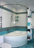 Карниз для ванны и поддона, нержавка, д25 мм, в наличии и под заказ