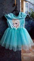 Платье Эльза + Корона /Холодное Сердце