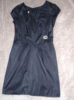 оригинальное чёрное платье