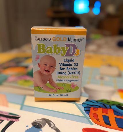 Витамин Д для детей California Gold Nutrition