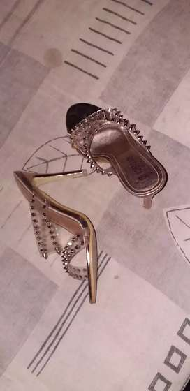 Gold heels for sale