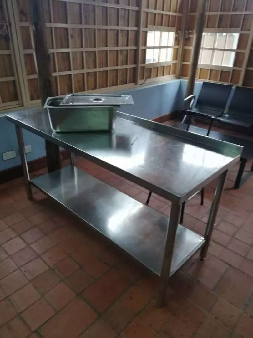 Stainless steel table 0