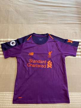 NEGOTIABLE- Liverpool Away Jersey with Premier League Badges