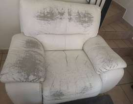 Used 3 Piece Leather Lounge Suite