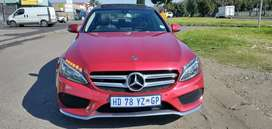 Merceders Benz C200 maroon in colour, very good condition ,