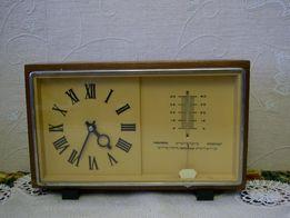 Настольные часы, барометр, градусник СССР