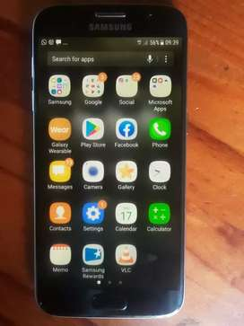A used Samsung S7 still in good condition. Price is negotiable