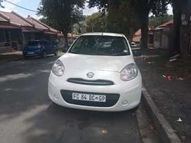 NISSAN MICRA WITH AN ENGINE CAPACITY OF 1,2