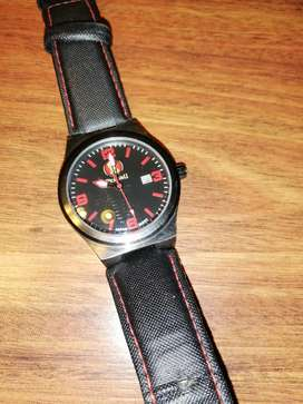 Watch genuine leather strap