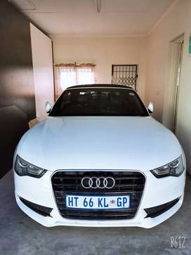 Audi A5 cabriolet for sale or swop for an suv of same value.