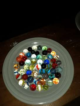 Mixed Collectable marbles