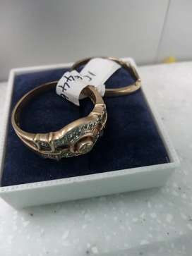 2 piece Gold Ring