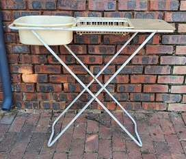 CAMPING DISHWASH STAND/BASIN - COMPLETE
