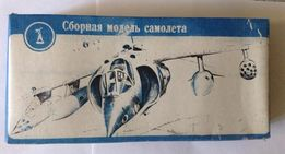 Сборная модель самолета Харриер-В