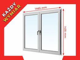 OKNA okno PCV ALUPLAST Plastikowe 1465 x 1435 WYCENA GRATIS !!!