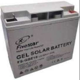 12V 18Ah Solar Gel Battery Sealed Maintenance Free Rechargeable NEW