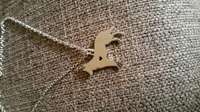 Image of GSD stainless steel pendant in chain