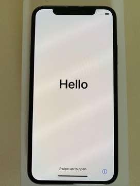 Immaculate iPhone X 64GB Silver