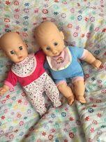 Lalki bliźnięta interaktywne/bobas/reborn/baby born(jak nowe)