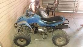 250cc quad to swap for pit bike