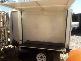 White display Trailer for sale