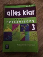 Alles klar 3 zakres rozszerzony Podręcznik z ćwiczeniami WsiP