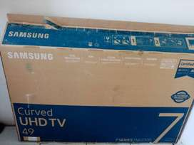 Sumsung 123 cm curved