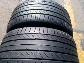 2×255/35/18 Continental run tyres for sale