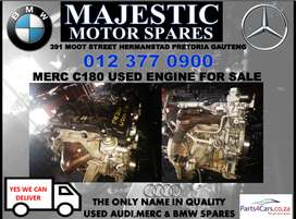 Mercedes benz C180 used engine for sale