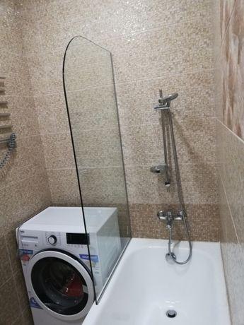 Шторка для ванной из безопасного стекла Харьков - изображение 1