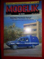 "MODELIK Polonez-Poltruck ""Policja"""