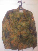 Oryginalna bluza BUNDESWEHRY w kamuflażu FLECKTARN mały rozmiar