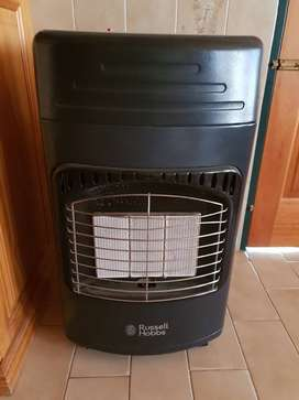 Russel Hobs Gas Heater comes with the Gas Bottle