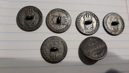 Гудзики-монети вінтаж