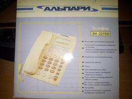Телефон Альпари SH-2375ID.Телефон с часами и будильником.
