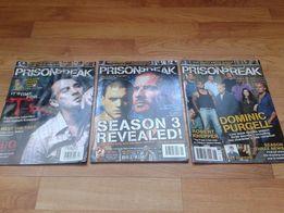 Magazyn Prison Break / Skazany na śmierć + plakaty