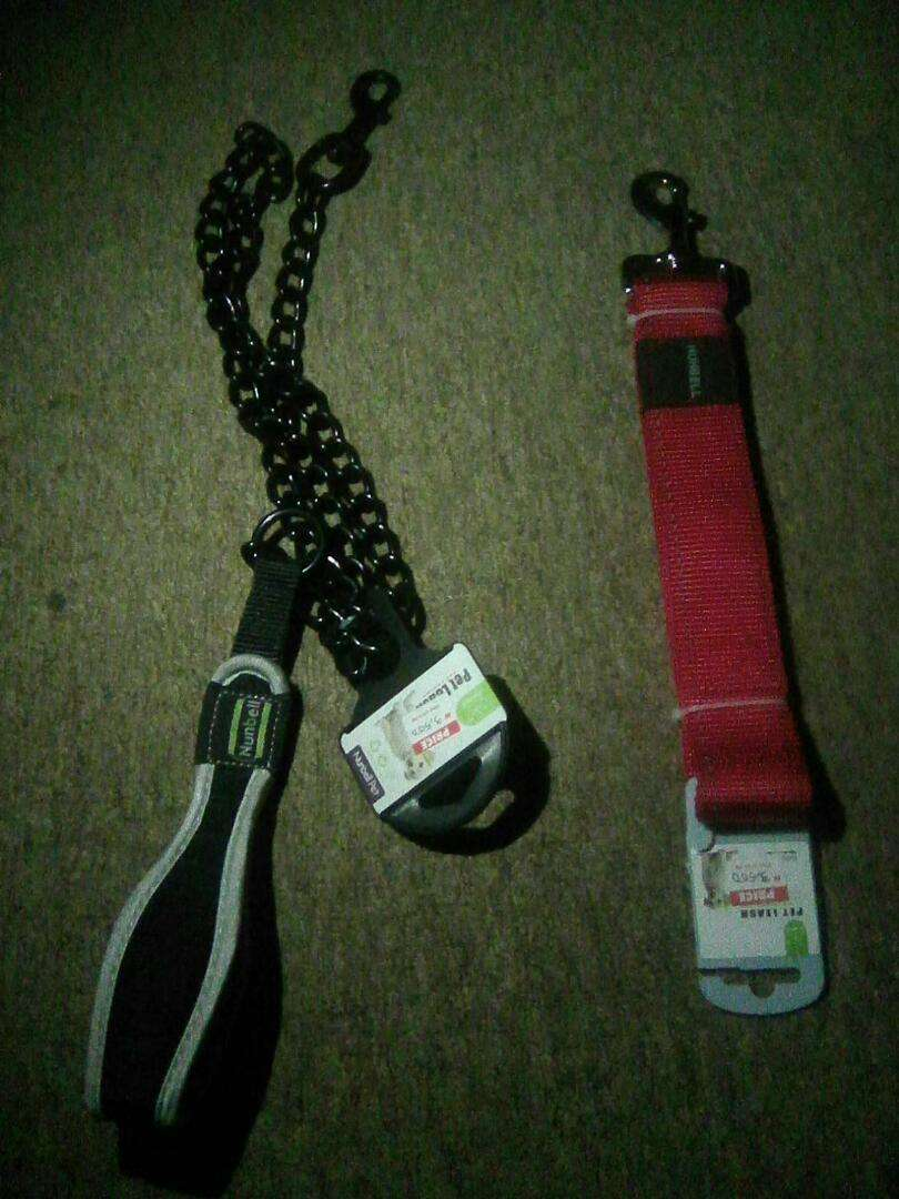 Dog Belt Chain, Leash and Handles 0