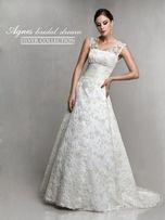 Suknia ślubna Agnes, model 10252 roz. 36