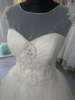 Suknia ślubna Nowa Wyprzedaż likwidacja salonu 36 rozmiar do 40 regul.