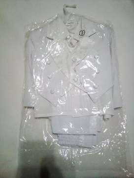 2 Years Old Five pieces White Suit