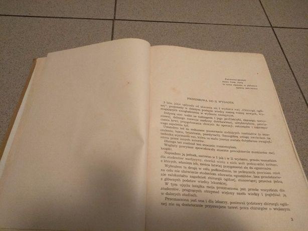 Chirurgia ogólna wydanie II Warszawa 1959r. , Tadeusz Butkiewicz Jarosław - image 4