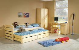 Детская двухуровневая кровать из массива бука Бонни