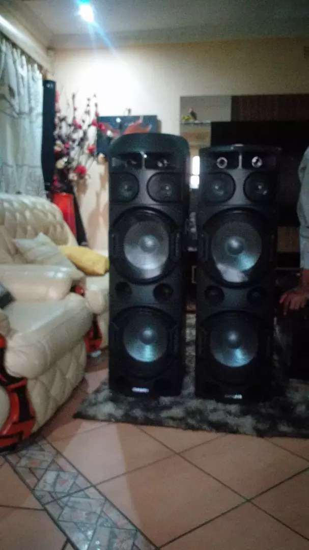 Big AIWA Professional sound speakers