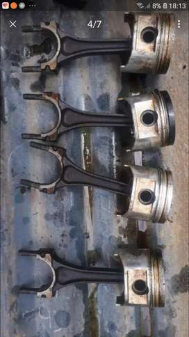 Pistons and conrods