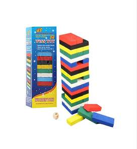 colorful wooden wiss toy blocks