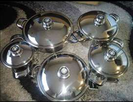 Le Morgan 10 piece pot set for Sale