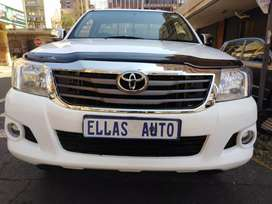Pre Own 2013 Toyota Hilux Single Cab 2.5 D.