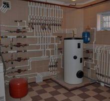 Отопление котел сантехника теплый пол батареи водопровод водоочистка